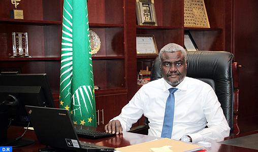 Moussa Faki Mahamat UA