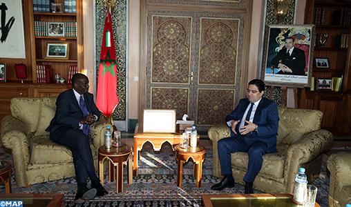 Bourita s'entretient avec son homologue du Rwanda - M