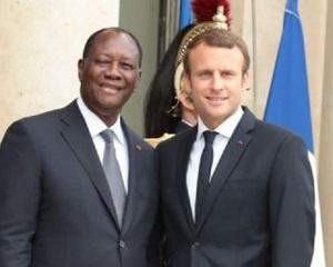 Les-presidents-Alassane-Ouattara-et-Emmanuel-Macron-a-lElysee-le-mercredi-3-mars-2021-e1634118194935
