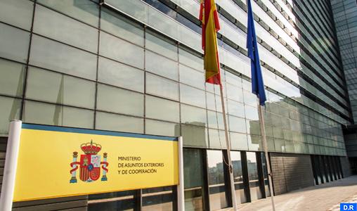 ministère AE Espagne