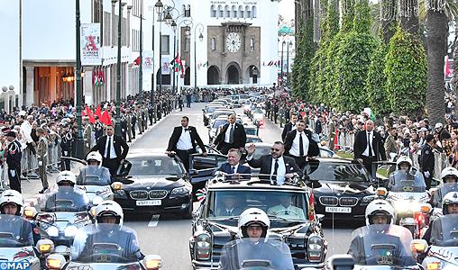Arrivée à Rabat de SM le Roi Abdallah II de Jordanie-M
