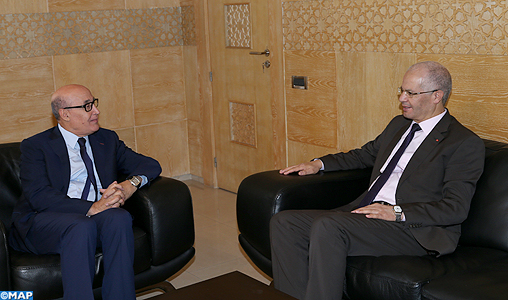 Bencheikh recoit son homologue tunisien-M