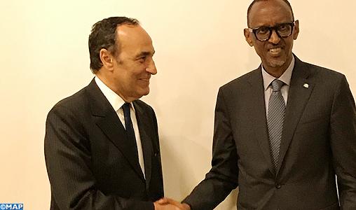 El malki reçu par le président rwandais