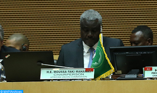 Moussa Faki Mahamat Addis-Abeba - MAP ARCHIVES