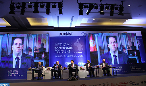 Tunisie-forum economique africain-M