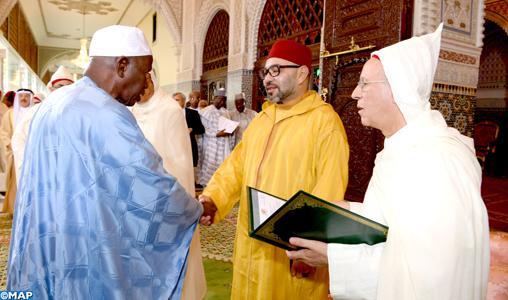 SM le Roi préside la deuxième causerie religieuse du Ramadan - M
