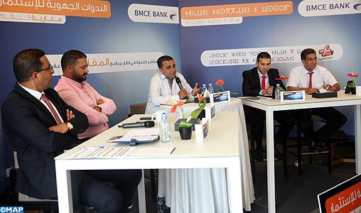 El Jadida séminaires régionaux investissement BMCE-M