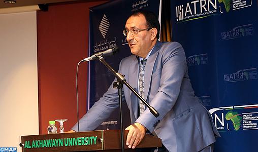 Khalid Zazou - Clôture 4-è congrès annuel du Réseau de recherche fiscale africain - M