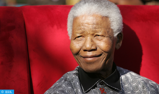 epa06894440 (FILE) - Nobel Peace Prize winner and iconic political prisoner Nelson Mandela during his birthday party at the Nelson Mandela Children's Fund, Johannesburg, South Africa, 20 July 2005  (reissued 17 July 2018). Nelson Mandela would have celebrated his 100th birthday on 18 July 2018. Mandela died aged 95, in Johannesburg, South Africa, on 05 December 2013. A former lawyer, Mandela was the first black President of South Africa voted into power after the country's first free and fair democratic elections that witnessed the end of the Apartheid system in 1994. Mandela was founding member of the ANC (African National Congress) and anti-apartheid activist who served 27 years in prison, spending many of these years on Robben Island. In South Africa, Mandela is often known as Tata Madiba, an honorary title adopted by elders of Mandela's clan. Mandela won the Nobel Peace Prize in 1993.  EPA-EFE/KIM LUDBROOK