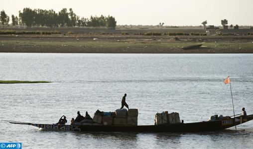 Mali pirogues dans le nord du pays