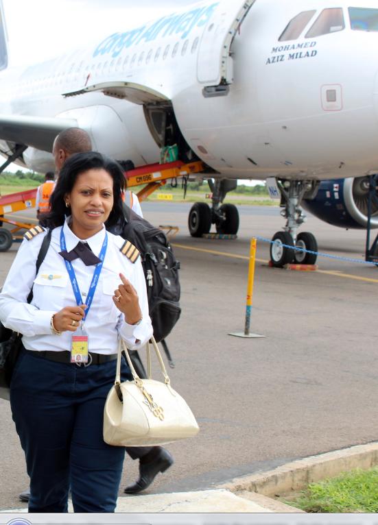 Rdc Une Pilote Congolaise Fait La Fierte Du Pays Par Sa Lutte En Faveur Des Droits Des Femmes Faapa Fr