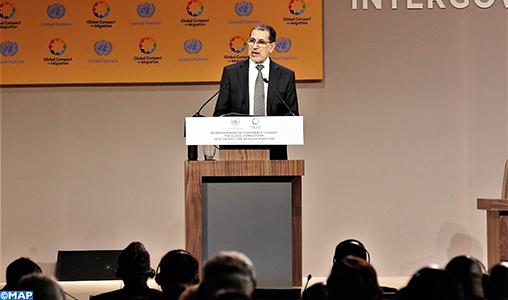 Othmani-Ouverture conférence intergouvernementale-M5
