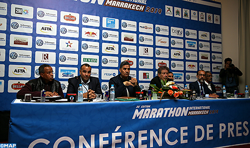 Casablanca-conference sur-marathon international de Marrakech-M