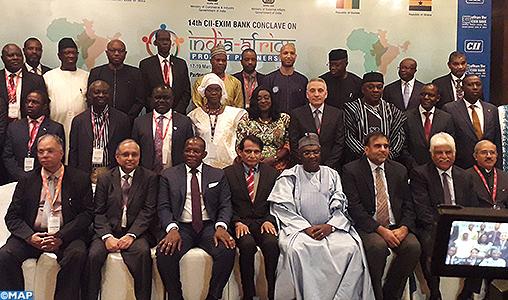 New delhi EL Alamy ouverture du conclave du partenariat Inde-afrique- M