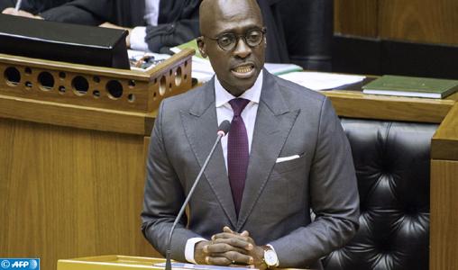 Afrique du Sud - Démission du ministre de l'Intérieur