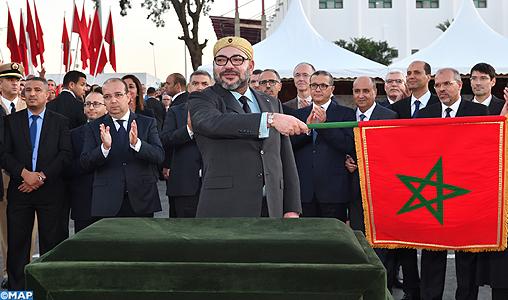 SM le Roi lance le projet d'extension du tramway de Rabat-Salé-M