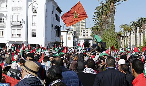 Marche a rabat-Al Qods-M