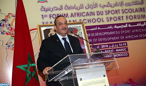 1er Forum Africain du sport scolaire-M