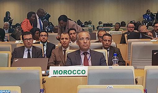 Addis-Abeba-35e session ordinaire du COREP-M