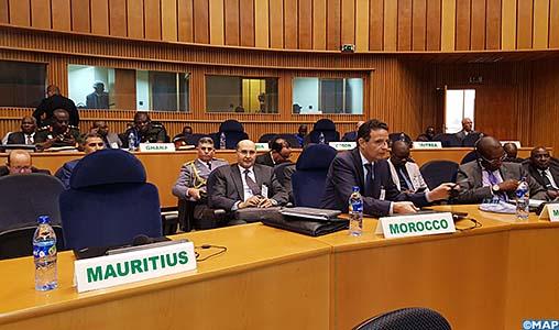 Addis Abeba-réunion-Experts- préparatoire-10ème session ordinaire du CTS sur la Défense-M
