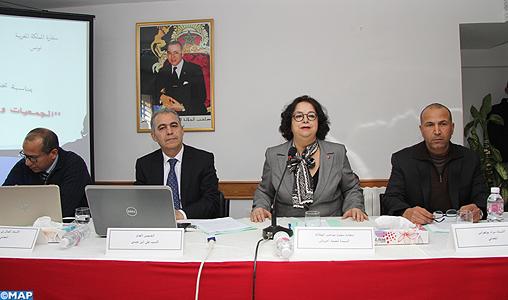 L ambassadeur du Maroc en tunisie - rencontre -role -associations marocaines a l'etranger - l'encadrement -MRE-M