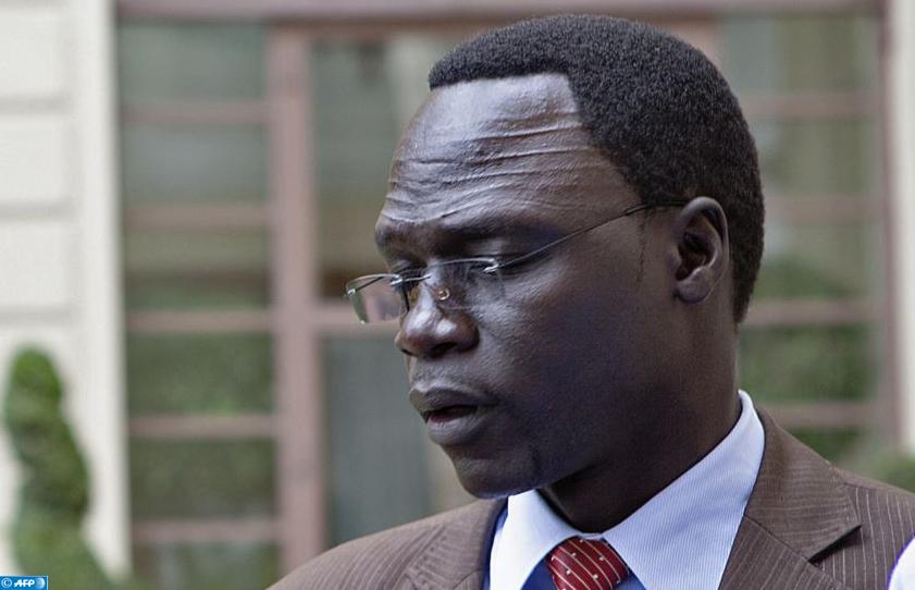 L'ancien porte-parole du Mouvement populaire de libération du Soudan (rébellion sud-soudanaise) James Gatdet
