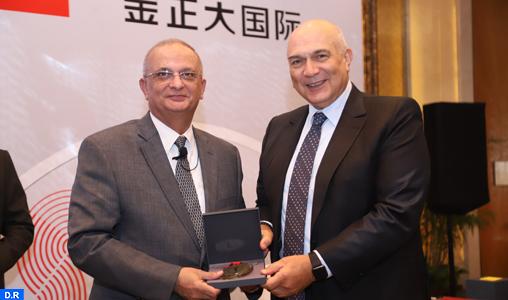 Le groupe OCP reçoit la médaille d'or HSE de l'IFA-M