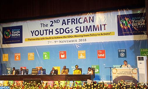 Sommet de la jeunesse africaine sur les ODD-M