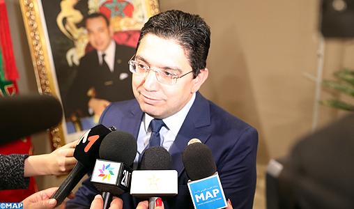 Migration_point de presse Bourita_M