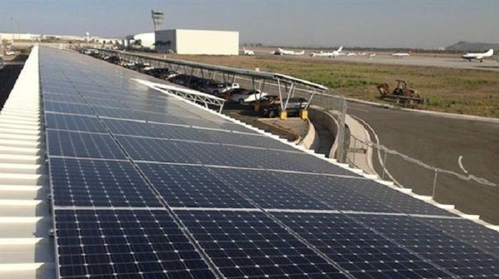 Solar-airport
