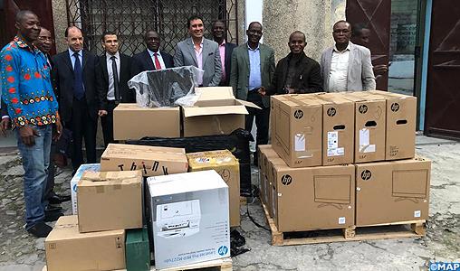 La MAP et la FAAPA font don d'équipements techniques à l'Agence congolaise d'information-M
