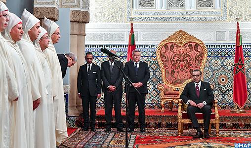SM le Roi reçoit les nouveaux walis et gouverneurs-M